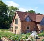 """A Picturesque Village Home - Shortlisted for the Build It Awards 2016 """"Best Oak Frame Home"""" Category / Mr & Mrs Lewis both enjoyed a fascination with property, design and architecture, and after discovering a house for sale in the perfect location with spectacular views they saw an opportunity."""