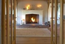 Inspirational Winter Warmer Fireplaces / The nights are drawing in and it's beginning to feel festive! Why not take some winter inspiration from our clients' own cosy fireplaces from inside their stunning Oakwrights homes!