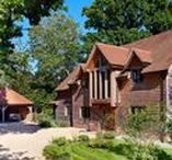 An Oak framed house in Hampshire - A choice location / A build situated in the New Forest, Brockenhurst in Hampshire, with an airy, open plan design in an idyllic location.