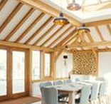 GreenRooms HQ: An Oakwrights Sunroom / With the success of our Oak framed extensions and oak orangeries in mind, the Oakwrights team began construction on a brand new build situated at the company's base, expanding the existing offices to include the new GreenRooms HQ and meeting room.