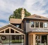 A Green Belt Oak Home / This oak framed home presents an unassuming face to its neighbours - its more flamboyant character is only apparent as you step inside. This inspirational oak frame home will air on Best Laid Plans on Channel 4, Saturday 11th November at 4 pm.