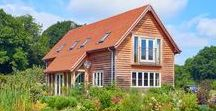 Self Build Story: Liz & Derek Sandeman / A beautiful countryside location for an oak framed barn home in rural Hampshire. Read their full planning consent story here: https://www.oakwrights.co.uk/oakwrights-design-and-build/planning-consent-stories/beautiful-countryside-location