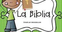 La Biblia / En este tablero encontrarás recursos gratuitos e ideas para enseñar sobre la Biblia con tus niños en la escuela dominical, célula de niños, hora feliz o en tus devocionales en casa.