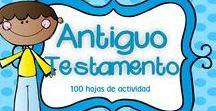 Antiguo Testamento / En este tablero encontrarás recursos gratuitos e ideas para enseñar sobre el Antiguo Testamento con tus niños en la escuela dominical, célula de niños, hora feliz o en tus devocionales en casa.