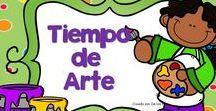 Arte / En este tablero encontrarás recursos gratuitos e ideas para fomentar el arte con tus niños en la escuela dominical, célula de niños, hora feliz o en tus devocionales en casa.