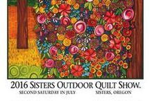 Sisters Outdoor Quilt Show / Sisters Outdoor Quilt Show, The Largest One Day Outdoor Quilt show in the US. Located in Sisters, OR.  Always on the Second Saturday of July!