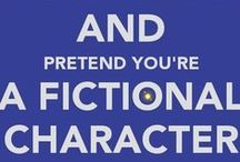Fictional Fandom / The actors and the characters that they play that make a movie or t.v. show classic. / by L.M.Gray