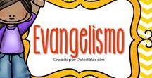 Evangelismo / En este tablero encontrarás recursos gratuitos e ideas sobre evangelismo para hacer con tus niños, en la escuela dominical, célula de niños, hora feliz o en casa.