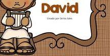 David / En este tablero encontrarás recursos gratuitos e ideas para aprender sobre David en la escuela dominical, célula de niños, hora feliz o en casa.