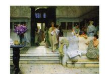 Tadema Friese schilder