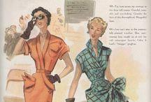 Damesmode 1950