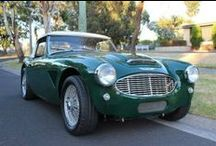 Austin Healey (Our Showroom) / Austin Healey was a British sports car maker. The brand was established through a joint venture arrangement that was set up in 1952 between Leonard Lord of the Austin division of the British Motor Corporation (BMC) and the Donald Healey Motor Company, a well known automotive engineering and design firm.