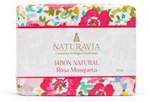 Nuestros Jabones · Our Soaps / Cosmética Ecológica Certificada · Certified Organic Cosmetics