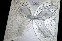 Wedding Invitations / Different Invitations  - showing variety - design