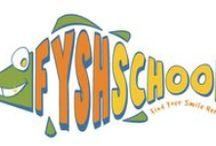 FYSH School for Little Teeth / FYSH (Find Your Smile Here) School is a fun and educational way for children and parents to learn about dental health and provide a foundation for a lifetime of oral health for the entire family. FYSH School breaks up childhood dental health into small, achievable steps while clearing up old wives tales.