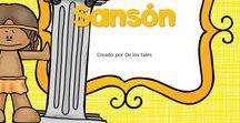 Sansón / En este tablero encontrarás recursos gratuitos e ideas para aprender sobre Sansón en la escuela dominical, célula de niños, hora feliz o en los devocionales en casa.