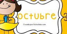 Octubre / En este tablero encontrarás recursos gratuitos e ideas para trabajar en Octubre en la escuela dominical, célula de niños, hora feliz o en los devocionales en casa