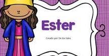 Ester / En este tablero encontrarás recursos gratuitos e ideas para aprender sobre Ester en la escuela dominical, célula de niños, hora feliz o en los devocionales en casa.