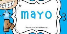 Mayo / En este tablero encontrarás recursos gratuitos e ideas para trabajar en Mayo en la escuela dominical, célula de niños, hora feliz o en los devocionales en casa