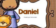 Daniel / En este tablero encontrarás recursos gratuitos e ideas para aprender sobre Daniel en la escuela dominical, célula de niños, hora feliz o en los devocionales en casa