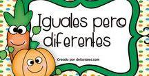 Iguales pero diferentes
