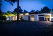 Project Villa Eindhoven / Een harmonieuze verhouding van daglicht en kunstlicht in deze prachtige eigentijdse villa.