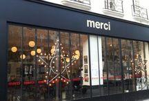 Jolies boutiques / Boutiques, concept stores