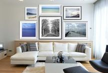 PhotoLove Gallery Walls / Get inspired! Great ideas for you to find the perfect spot for your PhotoLove Photography.