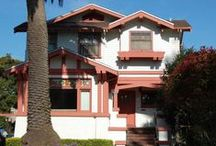 Arts & Crafts Architecture / See Arts & Crafts houses, Craftsman Bungalows, and other houses that reflect the charming homes of the Arts & Crafts movement in Great Britain and the USA.