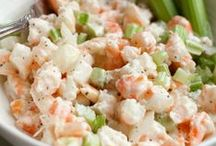 Salads / Delicious salads, healthy salads, all kinds of salads.And the fixings! ToniWeidman.com #Salads #ToniweidmanRealtor