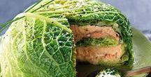 Avec du chou frisé / Le chou vert frisé, disponible tout l'hiver, se retrouvera dans votre panier de temps en temps pendant cette période. Voici de nombreuses idées, pour apprendre à le cuisiner et surtout à l'apprécier sans jamais vous en lasser.