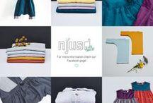 °*° AW16 by njusd little °*° / Re- and Eco-Fashion von zwei Schwestern aus Hamburg. Alle Artikel sind aus Bio-Baumwolle von Hand gefertigt und mit erlesenen Second-Hand Stoffen veredelt.
