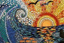 Basit Mozaik Çalışmaları