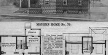 1908-1909 Mail Order Houses / Sears, Roebuck and Co. launched their first mail order house plans in 1908. Other companies like Ye Planry Building Company also began selling house plans through the mail. See illustrations and specs from house plan catalogs published between 1908 and 1909.