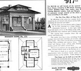 1911-1913 Mail Order Houses / See historic advertisements for mail order house plans and house kits. These plans are from Sears house plan catalogs published between 1911 and 1913.