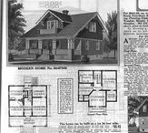 1915-1917 Mail Order Houses / Between 1915 and 1917, Sears published many wonderful bungalow plans in their Modern Home catalogs. Check out these favorites.