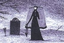 Edward Gorey / Edward Gorey: Illustrations, Book Covers, Graphics and much more...