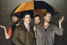 Mumford / What a beautiful band, especially Ted Dwane, possibly the most awesome bassist in the world! I love them all, every song and one day I want to follow their tour, maybe across Europe or something :D / by Jessica Thomas