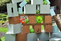 Angry birds feest / maak het feestje compleet met deze leuke versieringen