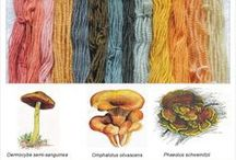 spinning and fiber dying ideas / by Mikaela Tenkink