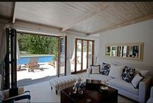 Home interiors-pool house / pool house Glyfada - Greece /  interior designer Sissy Raptopoulou