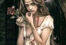 Vampir@s / No es el vampiro horrible come carne y sangre que sobrevive de la influencia de los zombies. Es el famoso vampiro de Bram stoker, el infernal Dracula; es el vampiro metrosexual de Anna Rice que inspira a la inmortalidad prohibida; que no es de Dios, tal vez maldición o enfermedad, que es para algunos solo un deseo de permanecer mas en esta vida de manera clandestina en el anochecer con los efectos de la sed, y de la cruda moral de saber que solo es sangre ajena de un inocente o un criminal.
