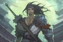 Guerrer@s / Diseño de personajes guerreros