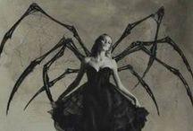 Lo oscuro-Fotografía / Fotografía artística con Modelos que representa una cultura medieval o mesiánica oscura, de lo oculto a lo sombrio.