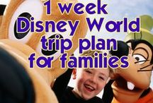 Disney / Tips for stress free family travel to Disney with Little Miss