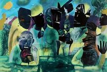 Hiper-abstracto / No tiene forma clara, pero despierta la imaginación, y la sensibilidad de quien lo ve, son colores caprichosos, rectas, geometría, lo nativo desde los inicios del universo, inspiración de las nebulosas,  trazos que dan una idea o un enfoque desde el punto del artista.