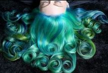 Creative hair in color / Amazing colorful hair. #creativahair #color #beauty