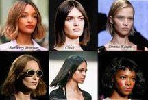 Fashionable haircuts of 2015. / Fashionable haircuts, luxurious hair styles in 2015.