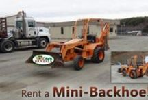 Earth Moving Equipment / Move that EARTH!! Call: 570-366-1071 for Prices & Details! Email: Info@arkrentals.com