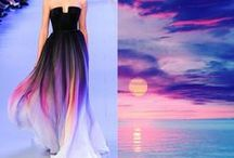 Nature and fashion. / Incredible dresses with breathe of nature.